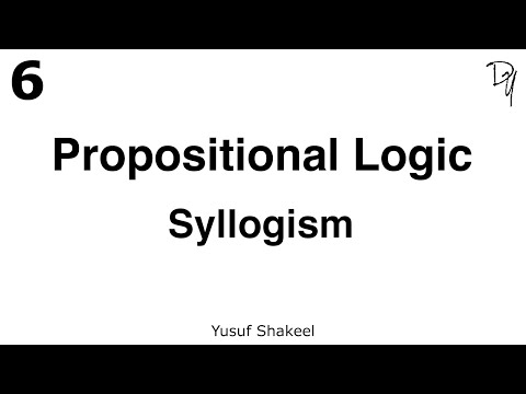 logic syllogism and proposition Keep in mind the fact that the above classification is based upon the form of propositions remember that logic is primarily concerned with the form of propositions and arguments section 3: categorical syllogism when trying to identify arguments within passages, always look for the main conclusion first identify inference.