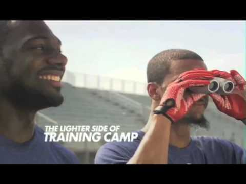Kenny Phillips & Domenik Hixon show the lighter side of training camp. Brought to you by Reebok, makers of Speedwick Performance Apparel, and Official Outfit...
