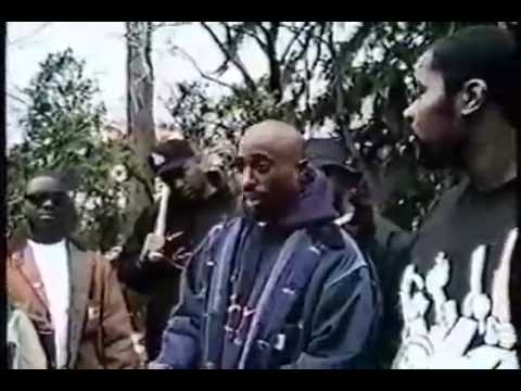 Tupac Talks about thug life and smoking