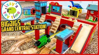GRAND CENTRAL STATION BY BIGJIGS! Shunting Yard MEGA THOMAS TRACK