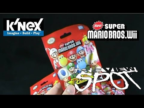 Collectible Spot - K'nex New Super Mario Bros Wii Mystery Bag Figures