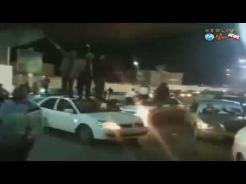 Sabha city GREEN - Libya - pro Gaddafi contra NTC -NATO - 30.12.2011.mp4
