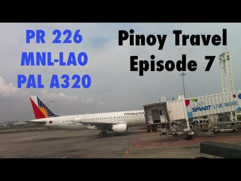 PINOY TRAVEL Ep.7 : Philippine Airlines Airbus A320 | Manila - Laoag | Part 1/2