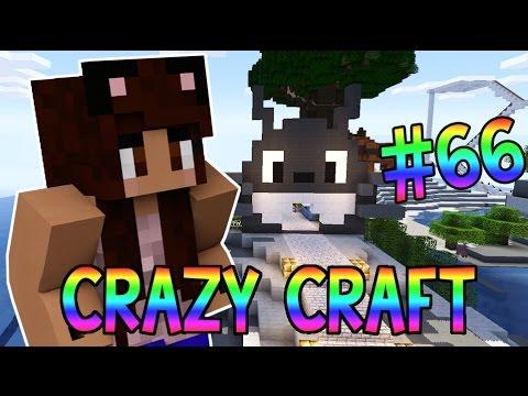 Minecraft: YouTuber Survival #66 - Totoro Island (Minecraft Crazy Craft 3.0 SMP)