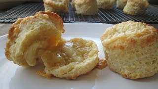 Lovely Lie Cheese Scones (how to...)