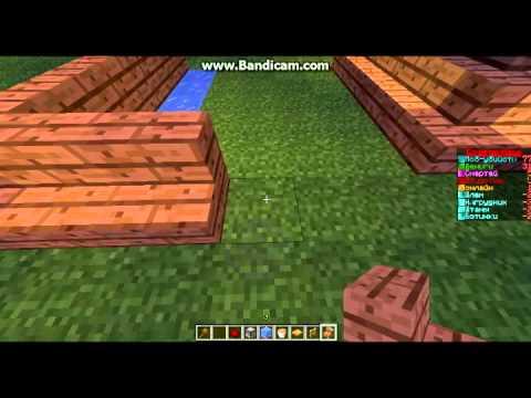 Как построить боулинг в minecraft - YouTube