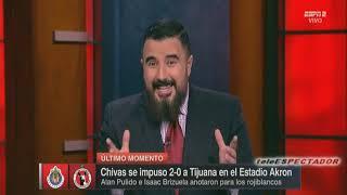 Analisis del CHIVAS vs TIJUANA - Jornada 1 Clausura 2019 - Futbol Picante