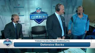 Bill Belichick jokes with Deion  Sanders about his Combine  40 yard dash time   Mar 5, 2018