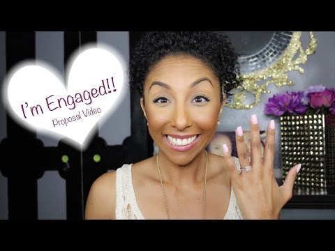 I'm Engaged! The Proposal Video | BiancaReneeToday