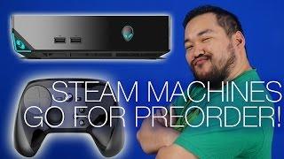Steam Machine Pre-order, Asus Pen Stick, Video Game HoF