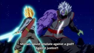 Trunks Kill Zamasu - Blue Sword