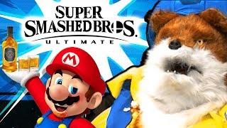 Super Smashed Bros - Drunk Super Smash Bros Ultimate Gameplay