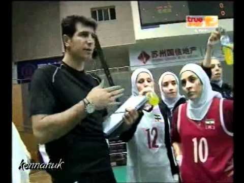 2010 AVC Women's Volleyball '' Thailand vs Iran ''Set 1 1/3