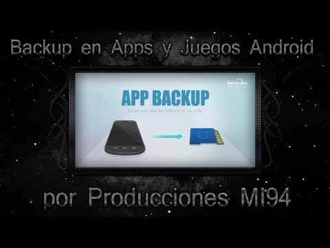 Como Hacer un Backup de APPS en Android (No Root. Root) /MiSoTa94/