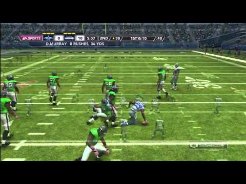 Madden NFL 12 Seahawks Franchise | [Y2]: Week 5 vs. Dallas Cowboys