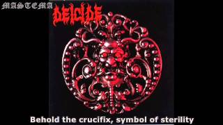 Watch Deicide Sacrificial Suicide video