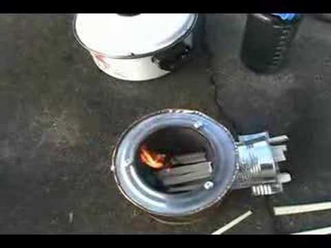 coffee can rocket stove