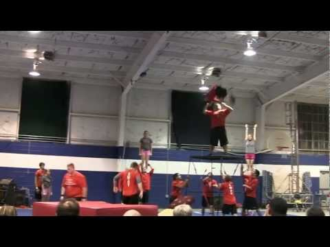 SWAT Acrofest Routine at Jefferson Christian Academy