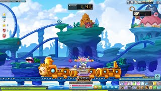 MapleStory Singapore Ghost Ship Dungeon (Lv180+) & Malaysia Water Coaster (Lv190+)