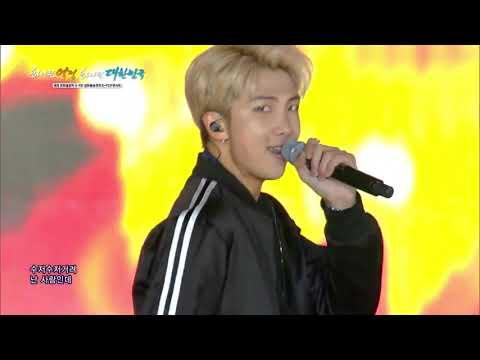 [BTS (방탄소년단) - FIRE (불타오르네) Live] 2018 Pyeongchang Olympics G-100 Concert