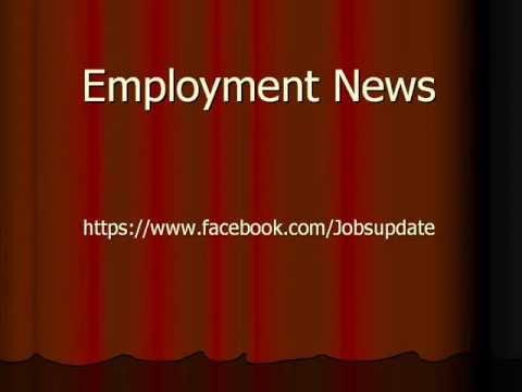 Employment news rojgar samachar of this week sarkari naukri