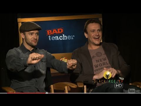 Justin Timberlake and Jason Segel discuss their own 'Bad Teacher'