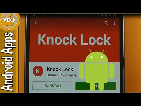 Double Tap to Sleep ANY Android Device with Knock Lock App
