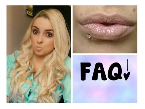 Lip Piercing Q&A! FAQ