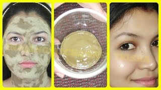 Face mask for crystal clear glowing skin/oily skin face mask//INDIANGIRLCHANNEL TRISHA