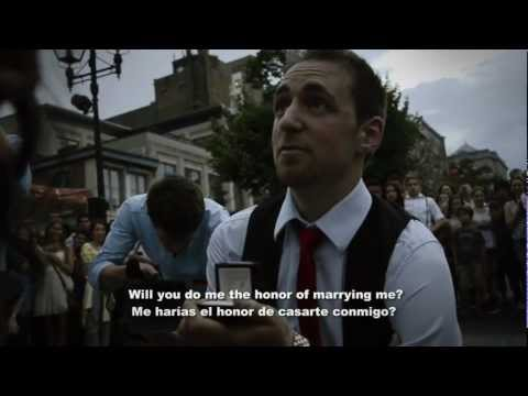 Awesome Flash Mob Wedding Proposal (Best Finale Ever!!) - Nataly and Sylvain