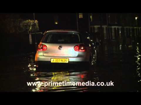 Flooding in Boston, UK - December 2013