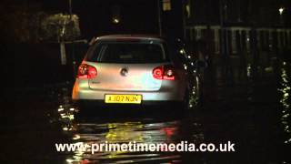 Flooding in Boston, UK - December 2013