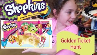 Shopkins Season 5 Golden Ticket Hunt Toys R Us Shopping