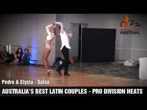 AUSTRALIA'S BEST LATIN COUPLES HEATS 2018 - PEDRO & ELYSIA