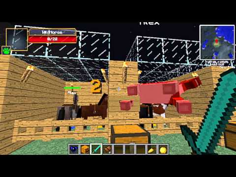 como domesticar cebras caballo vaca fantasma minecraft 1.6 en adelante mo creatures
