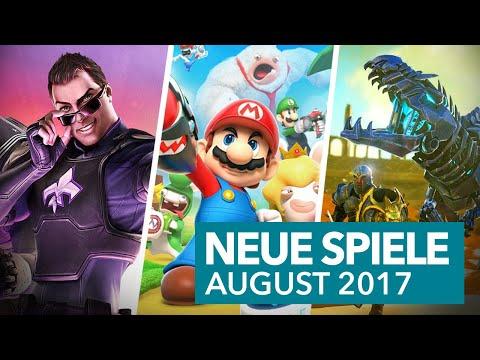 Neue Spiele im August für PS4, Xbox One, Switch & Co.