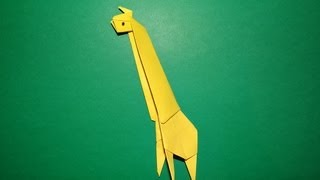 How To Make An Origami Giraffe - Kirigami