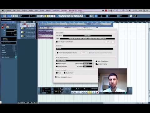 Convert Wave to MP3 in Cubase