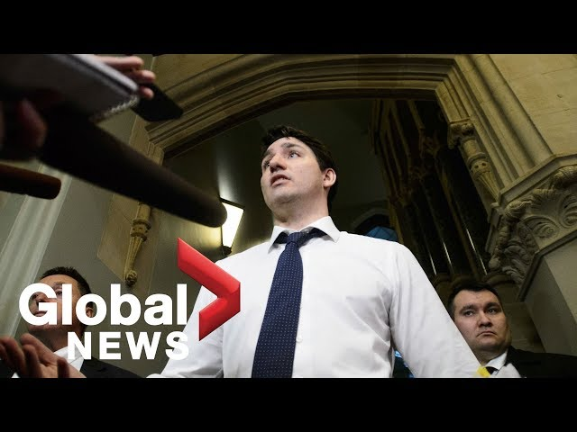 Trudeau dodges question on SNC-Lavalin public inquiry, calls for вairingв on issue