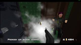 GoldenEye 007 (N64-EMU) Mission 14: Train (Agent 2:50)