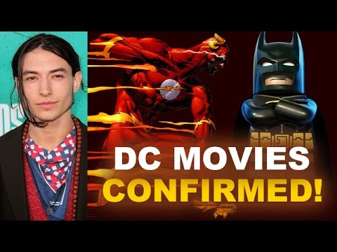 DC Movies Confirmed Today! The Flash 2018 with Ezra Miller! - Beyond The Trailer