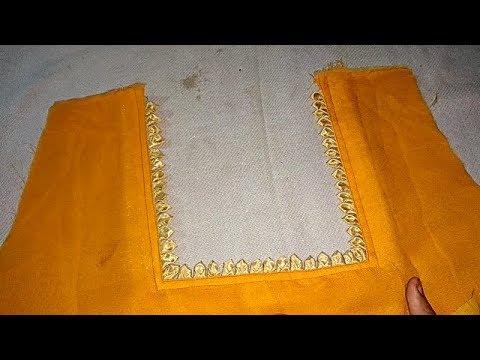 gala ka design banane ka tarika latest neck design zia art fashion