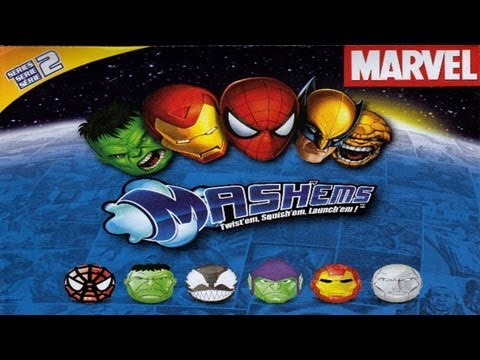 Mash'Ems Marvel Series 2 Blind Bags Toy Review