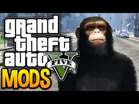 Gta 5 - Breaking The Game With Mods! (gta 5 Funny Moments W  Pc Mods) video