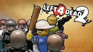 Full HD Lego Prehistory Left 4 Dead 2 ( часть 1 )