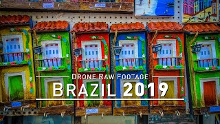 【4K】Drone RAW Footage | BRAZIL 2019 ..:: Recife :: Salvador :: Fortaleza :: Belo H. | UltraHD Video