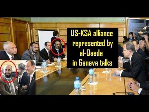 USA-Saudi alliance represented by al Qaeda in Geneva talks