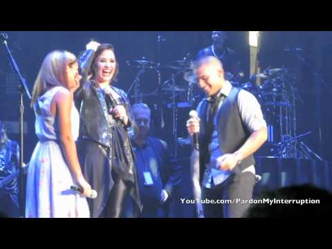 The First Wedding Proposal on Tour Ever!-Demi Lovato World Tour: Albany, NY 09|07|14