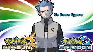Pokemon UltraSun & UltraMoon - Team Galactic Boss Cyrus Battle Music (HQ)