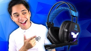 Budget Gaming Headset? - Sades XPower Plus Gaming Headset Review Mic Test and Unboxing